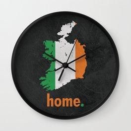 Ireland Proud Wall Clock