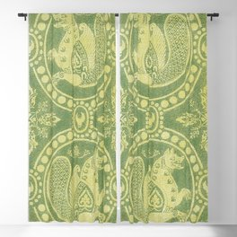 Silk fabrics 13th century (1857-1864) by anonymous Blackout Curtain