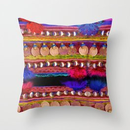 Tribal Galore an Ethnic Gift Throw Pillow
