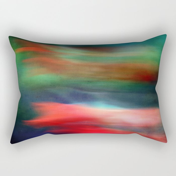 abstract Gladiolus #2 Rectangular Pillow