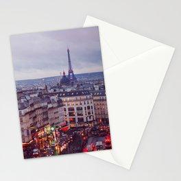 Rainy Paris. Stationery Cards