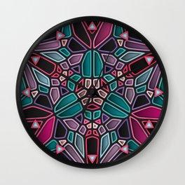 Dark Zone - Voronoi Wall Clock