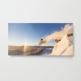 Sunrise Wake Up Call Metal Print