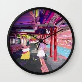 Inari Station Wall Clock
