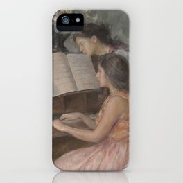 Piano Lessons iPhone Case