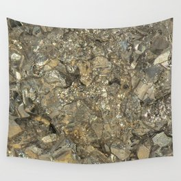 "Pyrite ""Fool's Gold"" Wall Tapestry"