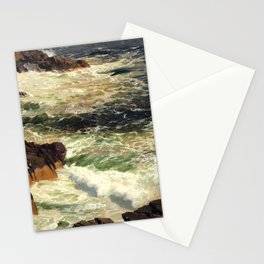 """Frederic Church """"Rough Surf, Mount Desert Island, Maine"""" Stationery Cards"""
