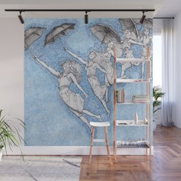 Blue Shift Wall Mural