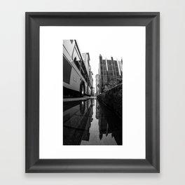 Deep Under Pittsburgh Framed Art Print