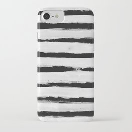 BW Stripes iPhone Case