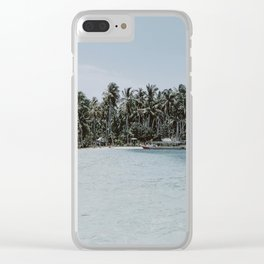 island / indonesia Clear iPhone Case