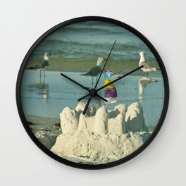 It's better at the beach #2 Wall Clock