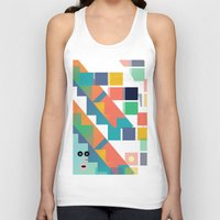 lsd Tank Tops featuring Gumby Does LSD by Mike•Long