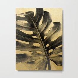 Golden Palms 02 Metal Print