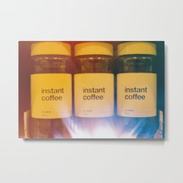 Instant coffee Metal Print