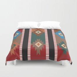 American Native Pattern No. 187 Duvet Cover