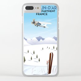 Saint-Sorlin d'Arves France. Clear iPhone Case