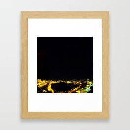 Lakeland Nights Framed Art Print