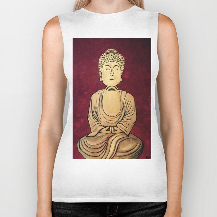 Golden Buddha Biker Tank