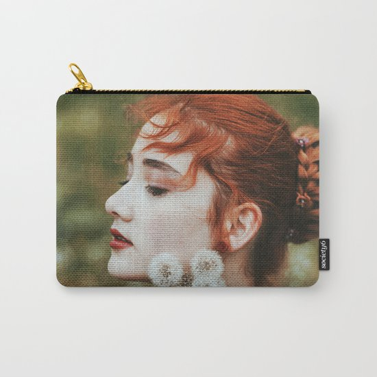 Dandelion girl Carry-All Pouch