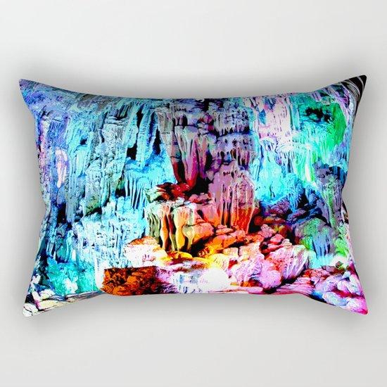 Cavern in Greece Rectangular Pillow