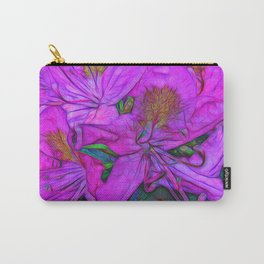 Rhododendron Fuscia Pink Carry-All Pouch