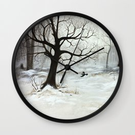 Winter meeting Wall Clock