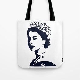 Young Queen in Blue Tote Bag