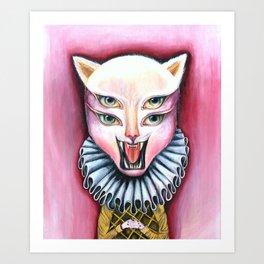 Cat | Vanity Art Print