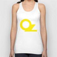 oz Tank Tops featuring OZ by Popp Art