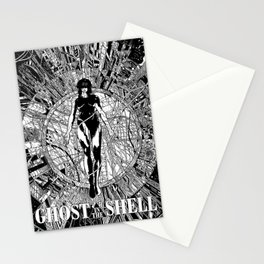 Ghost Shell - Anime - Sci-fi - Cyborg Stationery Cards