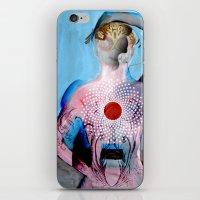 chakra iPhone & iPod Skins featuring chakra by nightowlstudio