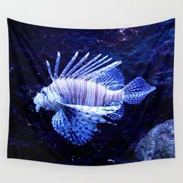 Sea World Lion Fish Wall Tapestry