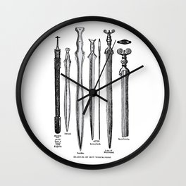 Examples of Iron Workmanship Wall Clock
