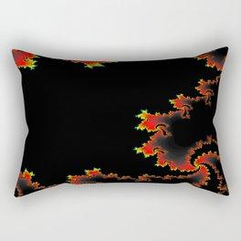space flames Rectangular Pillow