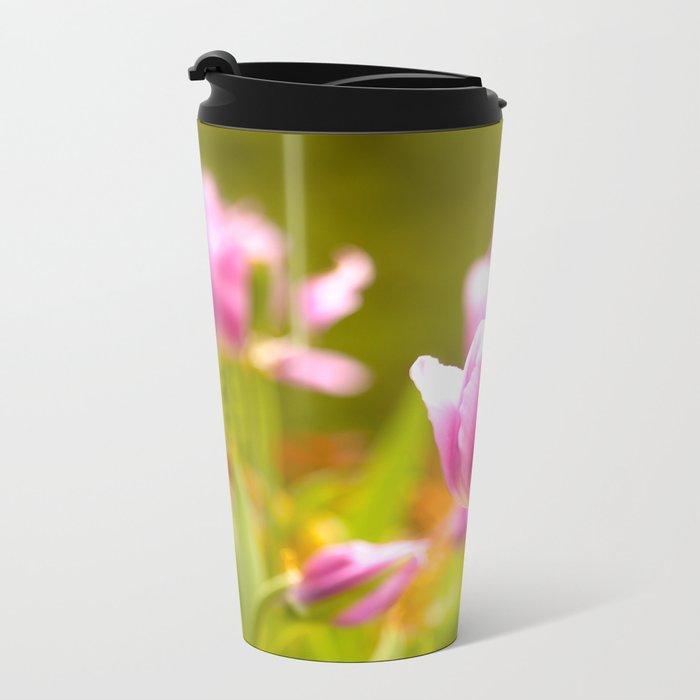 Joy Of Spring Flowers #decor #society6 Metal Travel Mug