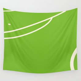 Footbal field Wall Tapestry