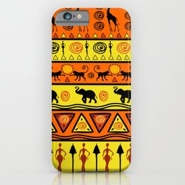 African pattern. iPhone Case