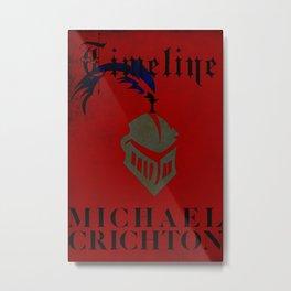 TIMELINE Metal Print