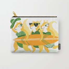 Surfin' Squirrel Babes Carry-All Pouch