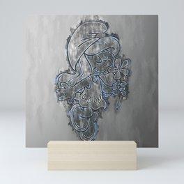 Smurfette Mini Art Print