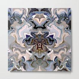 Textural abstraction fun Metal Print