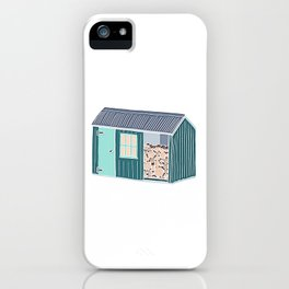 Little Log Cabin iPhone Case