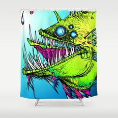 RUMBLEFISH Shower Curtain