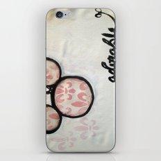 Adorable Mouse Fleur de lis Painting iPhone & iPod Skin
