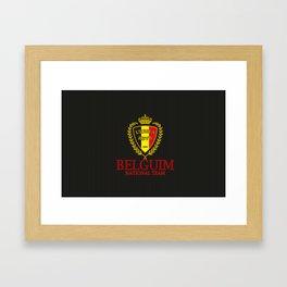 Belguim Framed Art Print