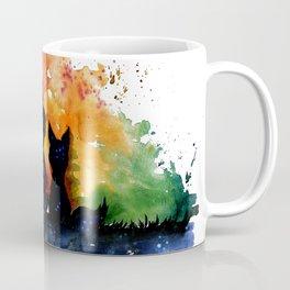El Principito The Little Prince Fox Book Watercolor Art Coffee Mug