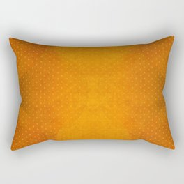 """Sabana Sunset Light Polka Dots"" Rectangular Pillow"