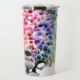 Candy Buttons Travel Mug