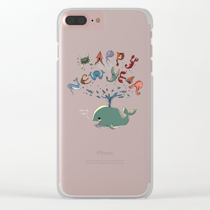 Happy New Year! Clear iPhone Case